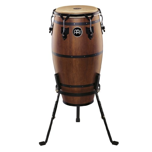 Meinl Percussion HTC12WB-M Headliner Traditional Designer Series 12-Inch Conga With Basket Stand, Walnut Brown