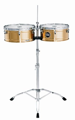 Meinl Percussion BT1415 Professional Bronze Timbales, 14-Inch and 15-Inch