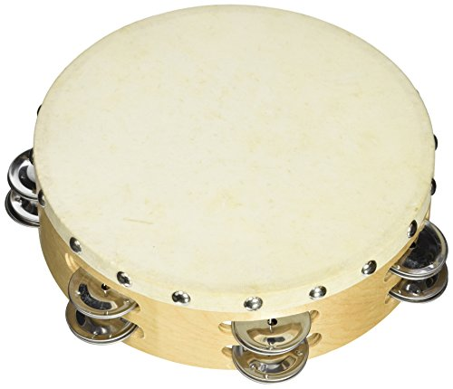 Cannon UPTAMB8D12H 8-Inch Double 12PRS Tambourine with Head