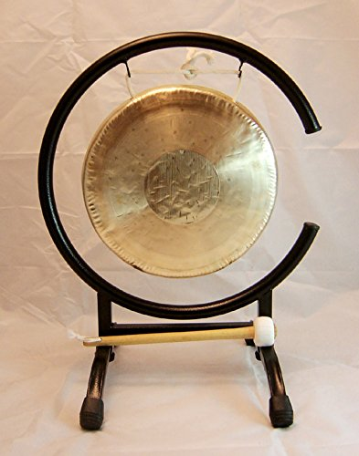 9″ Che Sui Gong on High C Gong Stand