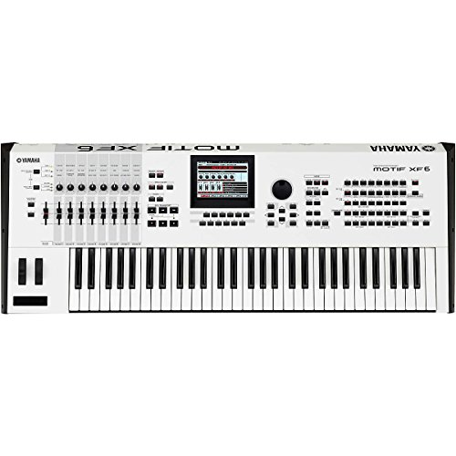 Yamaha MOTIFXF6 WH 61-Key Music Production Synthesizer, White