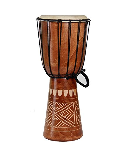 Djembe Congo Bongo African Percussion Drum – Professional Sound Extra Large 20″ X 10″