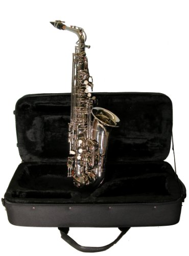 Mirage SX60ANI Nickel Finish Eb Alto Sax with Case