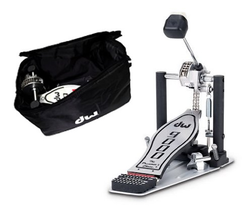 DW Drums 9000 Series Single Bass Drum Pedal with Bag