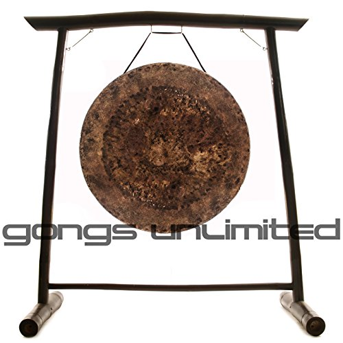 32″ Atlantis Gong on the Vietnamese Bamboo Gong Stand