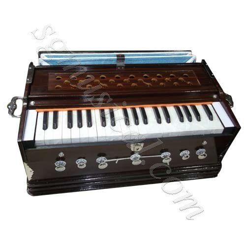 Beingdeal Harmonium 7 Stopper Mahangony Color+ FREE CARRY BAG + FREE BOOK