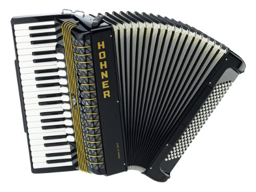 Hohner Atlantic IV 120 Bass Piano Accordion Musset with Palm Switch