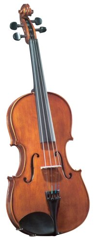 Cremona SVA-175 Premier Student Viola Outfit 15″ Size, Ebony Fittings, Aging Toner, Prelude Strings, Deluxe  Case