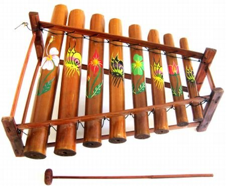 XYLOPHONE ,Meditation Chime Energy Chime Wooden Xylophone Angklung Musical Instrument- JIVE® BRAND