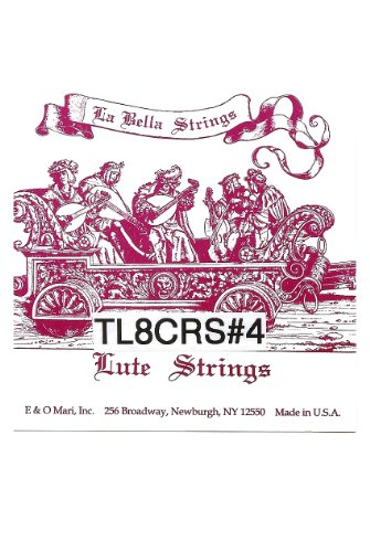 La Bella Lute String Set, 8 Courses (Package Of 3)