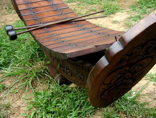 Thai Ranard Traditional Music Instrument 3 Feet Xylophone Playable Stage Show Free Shipping Made From Thailand