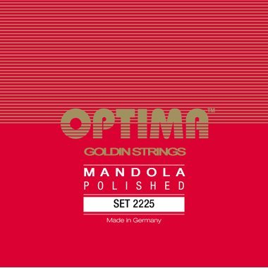 Optima 2225 Mandola GOLDIN Strings polished Set