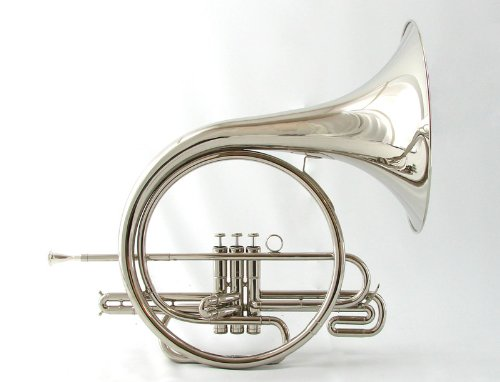 Schiller Field Series Marching French Horn – Nickel Silver