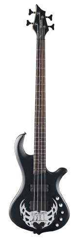 Traben Basses Array 4 Series TRAA4SBK 4-String Bass Guitar, Black Satin