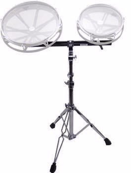 Remo Twin Roto Tom Stand with 24″ Roto Trac