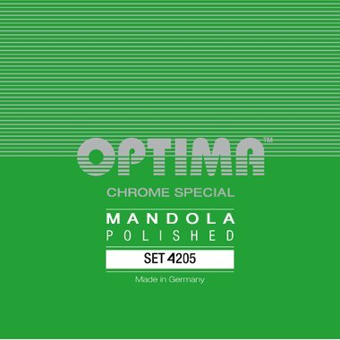 Optima 4205 Mandola CHROME SPECIAL Strings polished Set