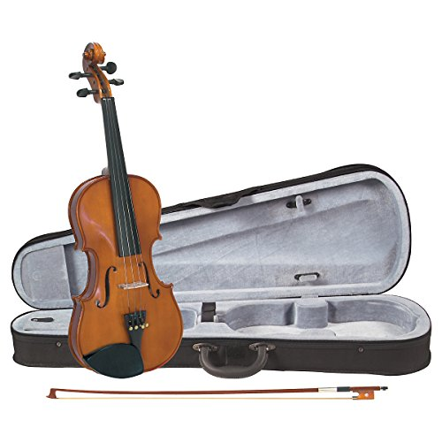 Cremona SV-75 Premier Novice Violin Outfit Full Size, Hardwood fittings, Prelude Strings