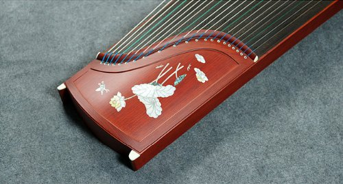 Professional Performing Carved Rosewood Guzheng Instrument Chinese Zither Harp