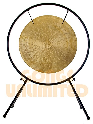 40″ Wind Gong on Center Yourself Stand