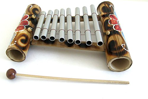 Xylophone Instrument Meditation Chime Energy Chime, Handpainted, Nice Sound – JIVE® BRAND