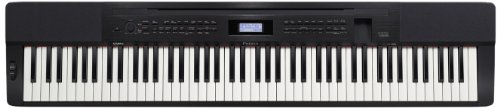 """Casio PX350 BK 88-Key Touch Sensitive Privia Digital Piano with """"AIR"""" Acoustic and Intelligent Resonation System"""