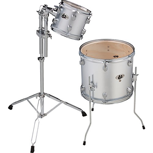 ddrum D2 MB AD1 2-Piece Drum Shell Pack, Midnight, Black