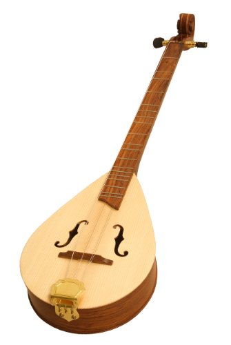 Roosebeck DMWFSRT Wildwood Dulcimer, Rosewood, F-Hole Openings and Scrolled Pegbox