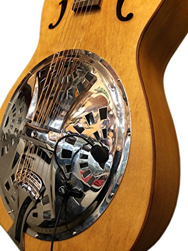 """""""THE FEATHER"""" RESONATOR PICKUP with FLEXIBLE MICRO-GOOSE NECK by Myers Pickups ~ See it in ACTION! Copy and paste: myerspickups.com"""
