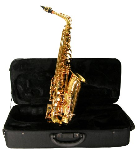 Mirage SX75Y Polished Brass Alto Sax with Case