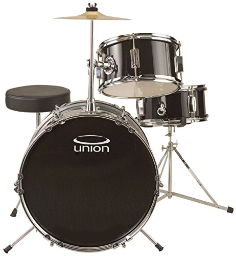 Union UJ3 3-piece Junior Drum Set – Black