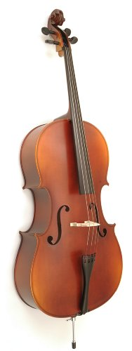 Knilling Bucharest Model Laminated Cello Outfit, 4/4 Size