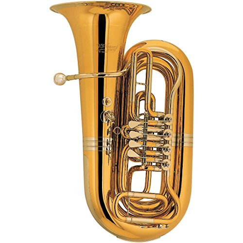 Cerveny CBB 683-4 Arion Series 4-Valve 3/4 BBb Tuba Instrument with Case