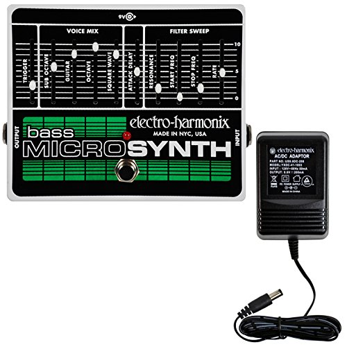 Electro-Harmonix Bass MicroSynth Synthesizer Brand New! w/Free Power Supply