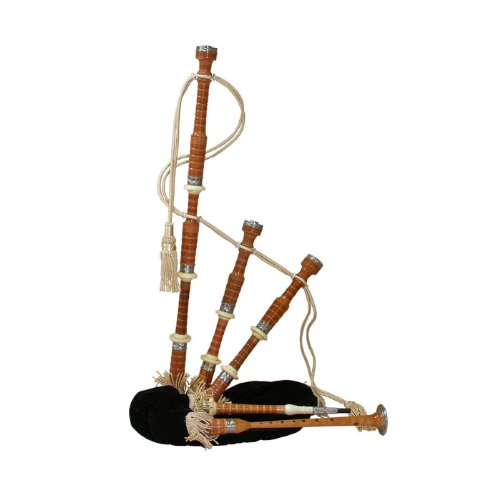 Scottish Great Highland Cocuswood Bagpipe
