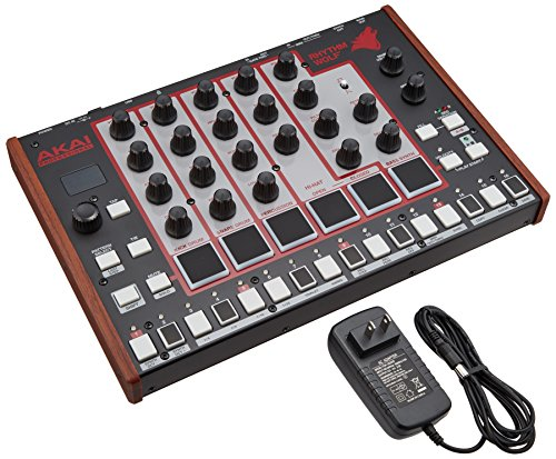 Akai Professional Rhythm Wolf Analog Drum Machine and Bass Synthesizer