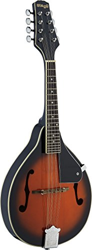 Stagg M20-S Bluegrass Mandolin with Solid Spruce Top – Violin Burst