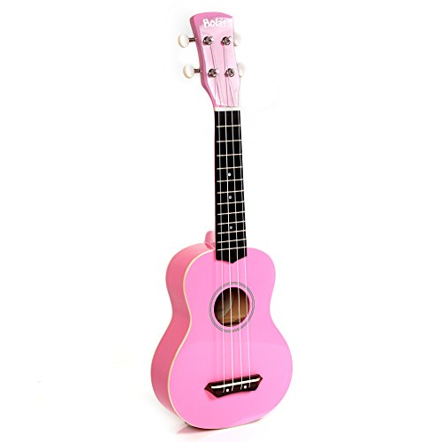 Hola! HM-21 Soprano Ukulele, Color Series (Candy Pink)