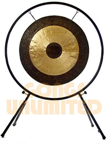 36″ Chau Gong on Center Yourself Stand