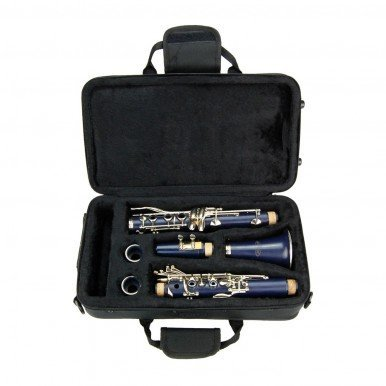 Blue ABS Clarinet for Band Students Beginners Starter Adult Teen Kids