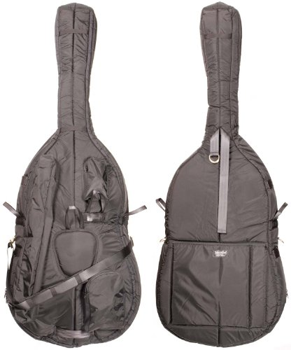 Mooradian 3/4 Deluxe Upright String Double Bass Bag – Black