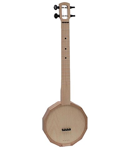 Zither Heaven Compact Ukulele Banjo with Friction Tuners