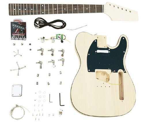 Customize and Make Your Own Tele. Unfinished Electric Guitar Builder Kit