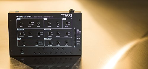 Moog Werkstatt-01 – Analog Synthesizer Kit