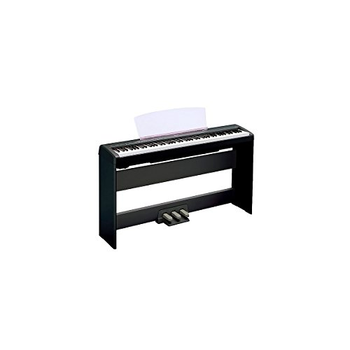 Yamaha P-105 88-Key Weighted-Action Digital Piano with L85 Wood Stand Black