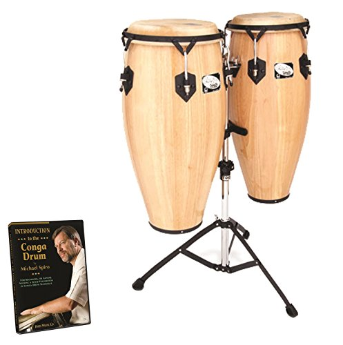 Toca Sheila E. Player's Series Wood Congas 10 and 11 Inches, 2800-SEN