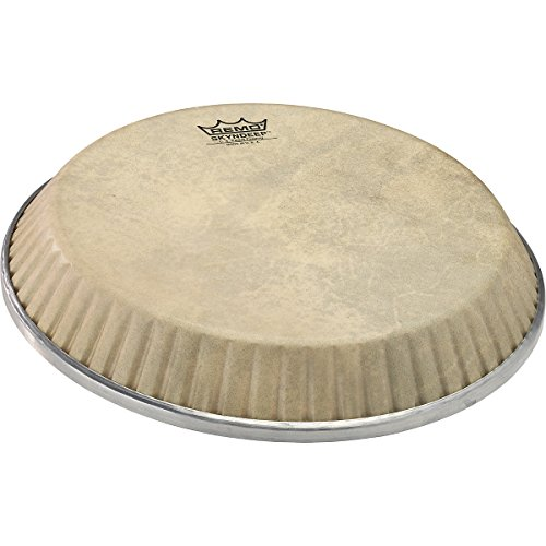 """Remo Conga Drumhead, Symmetry, 9.75″ D1, SKYNDEEP®, """"Calfskin"""" Graphic"""