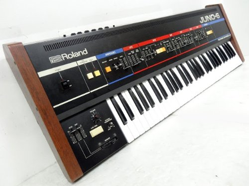Roland Japanese Vintage Synthesizer Juno-6