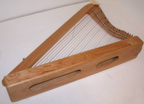 Rees Harps SE – SPECIAL EDITION Fullsicle Harp, SOLID CHERRY WOOD, 26 String, 33″ Tall, Concert Quality Rees Levers, Made in USA, includes MelBay instruction book