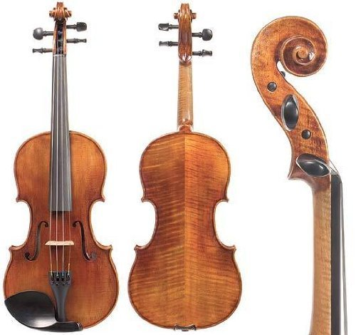 D Z Strad Viola Model N2011 with D Z Strad Bow and Case- 15.5″