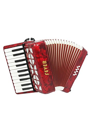 Fever F228-RD Piano Key Accordion